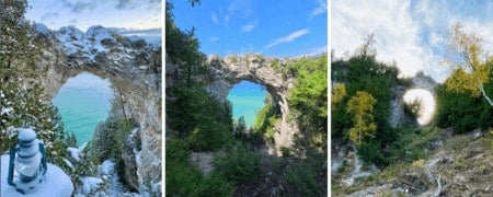 You Should Know These 6 Facts Before Visiting Arch Rock Mackinac Island