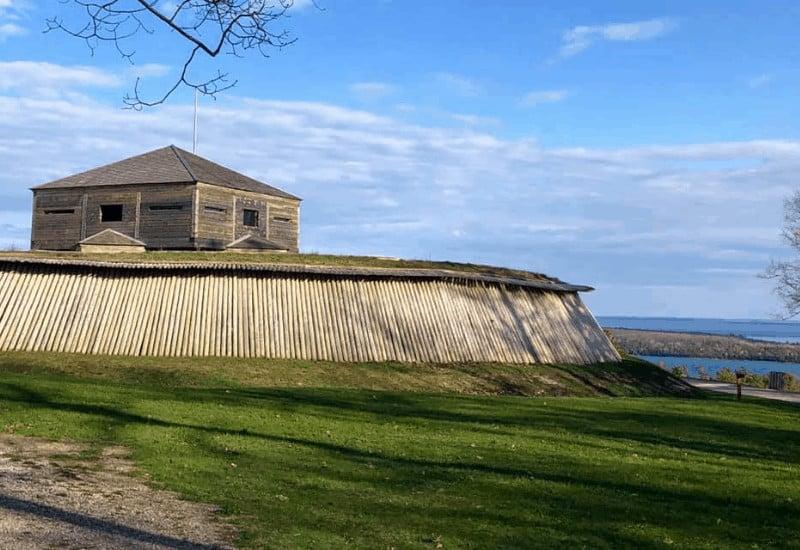 Fort Holmes near Arch Rock