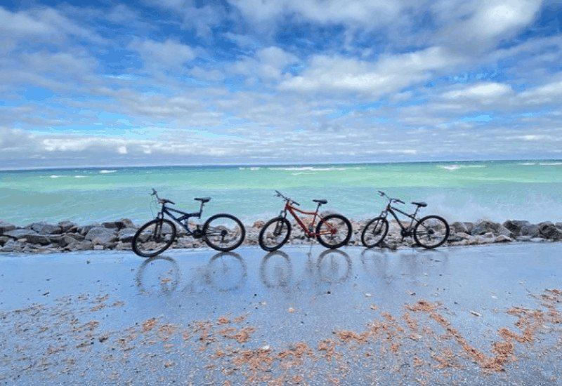 How to Get to Arch Rock - Biking