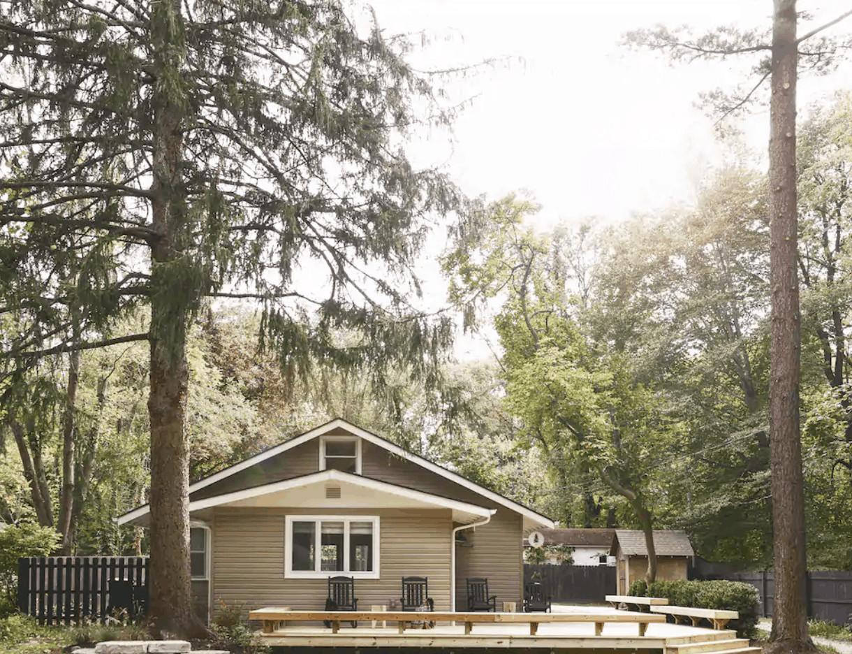 Our Michigan Tree House   Lakeside, MI