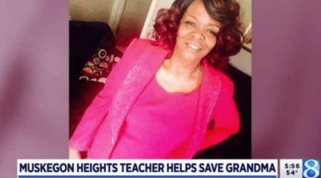 A Muskegon Heights Teacher's Quick Thinking Saves a Life