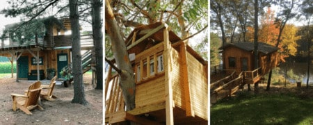 """Stay Overnight in a """"Treehouse"""" 