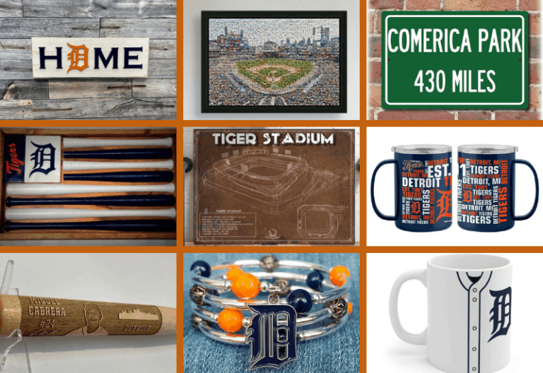 Detroit Tigers Gifts | Gift Ideas for Detroit Tigers Fans