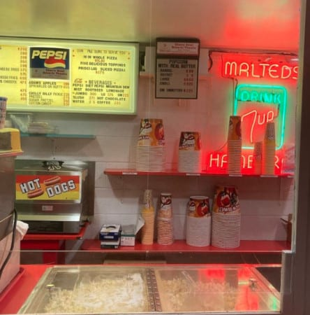 Cherry Bowl Drive-In Concession Stand