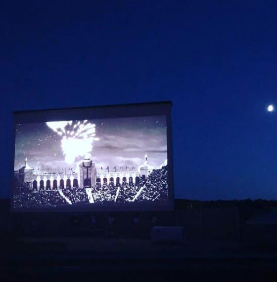 drive-in movie theater in Michigan
