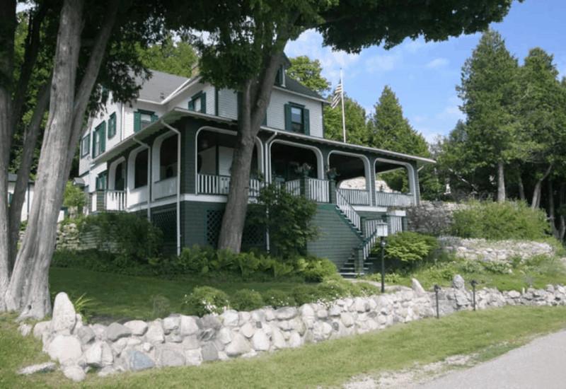 Cross Trees Cottage Airbnb Mackinac Island Vacation Rental