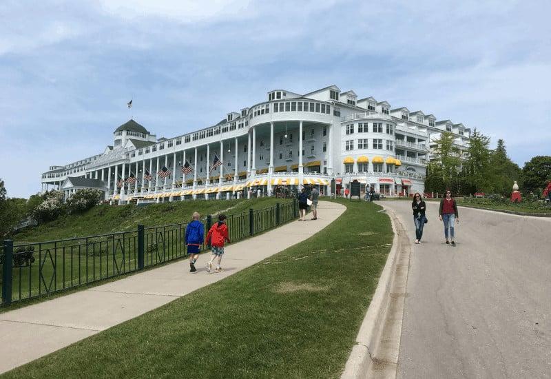 Mackinac Island Hotels - Grand Hotel