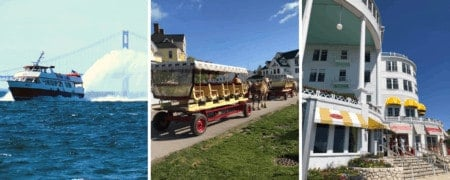 Ultimate Guide to Mackinac Island Michigan | Ferry, Food, Lodging, Attractions, & More