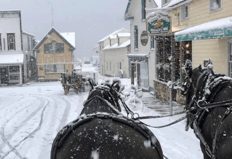 Visit Mackinac Island in the Winter