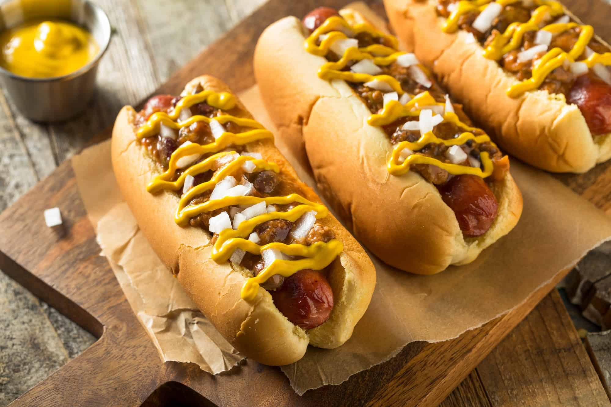 Homemade Detroit Style Chili Dog