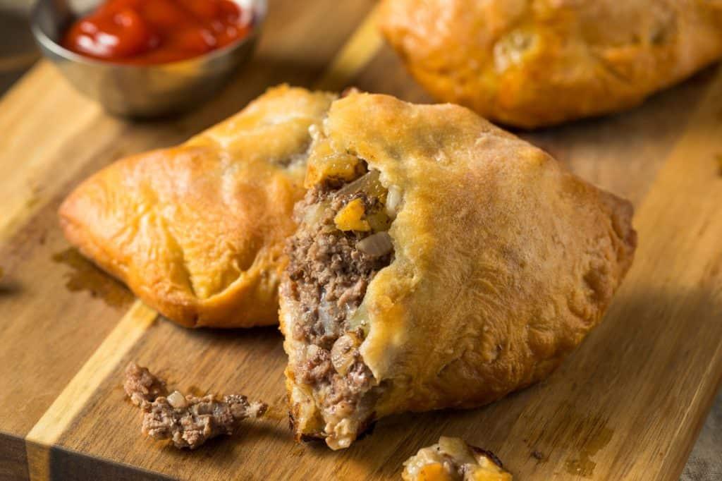 Homemade Upper Michigan Pasty Meat Pie