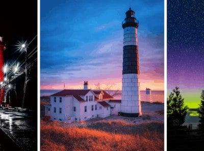 35 Amazing & Unique Michigan Lighthouses to Explore in 2021