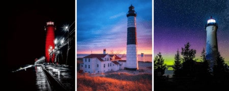 35 Amazing & Unique Michigan Lighthouses to Explore in 2021