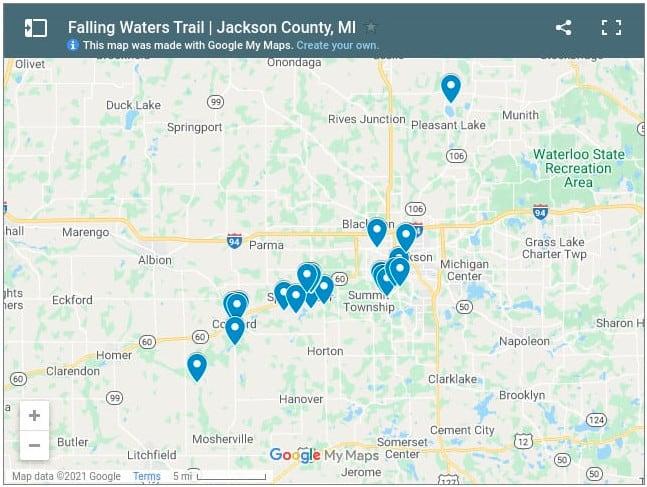 Falling Waters Trail Jackson screenshot Spend a Day on the Falling Waters Trail