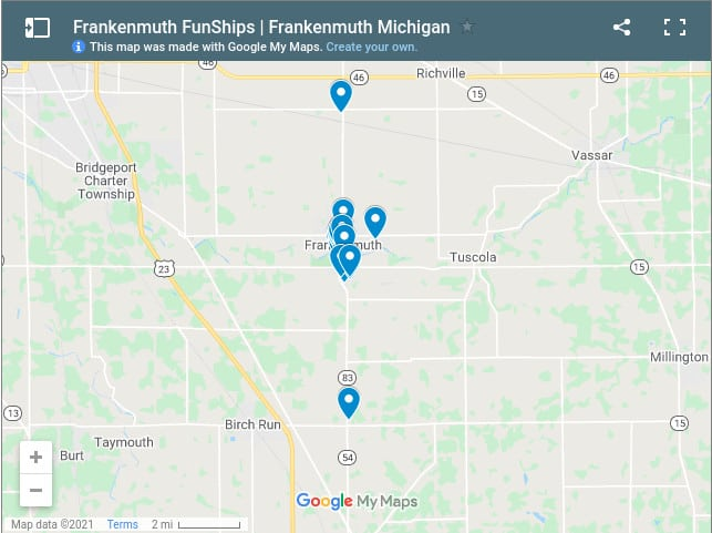 Frankenmuth Funships screenshot Tantalize Your Tastebuds While Cruising the Cass River