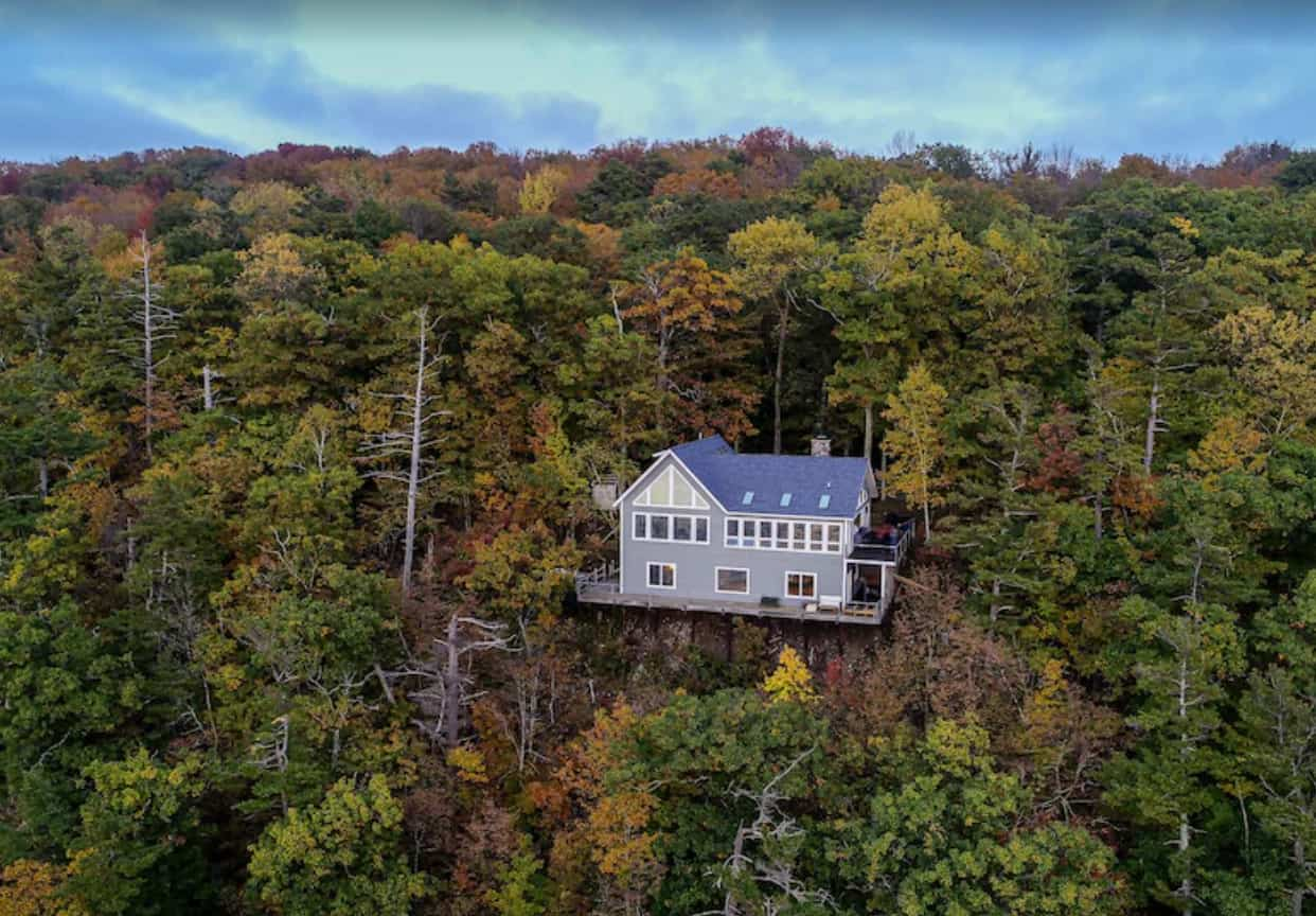 High Bluff Home w/ Private Lake in Harbor Springs