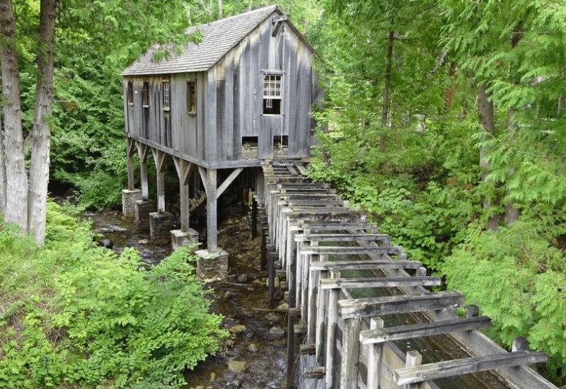 Historic Mill Creek Discovery Park - Mackinaw City