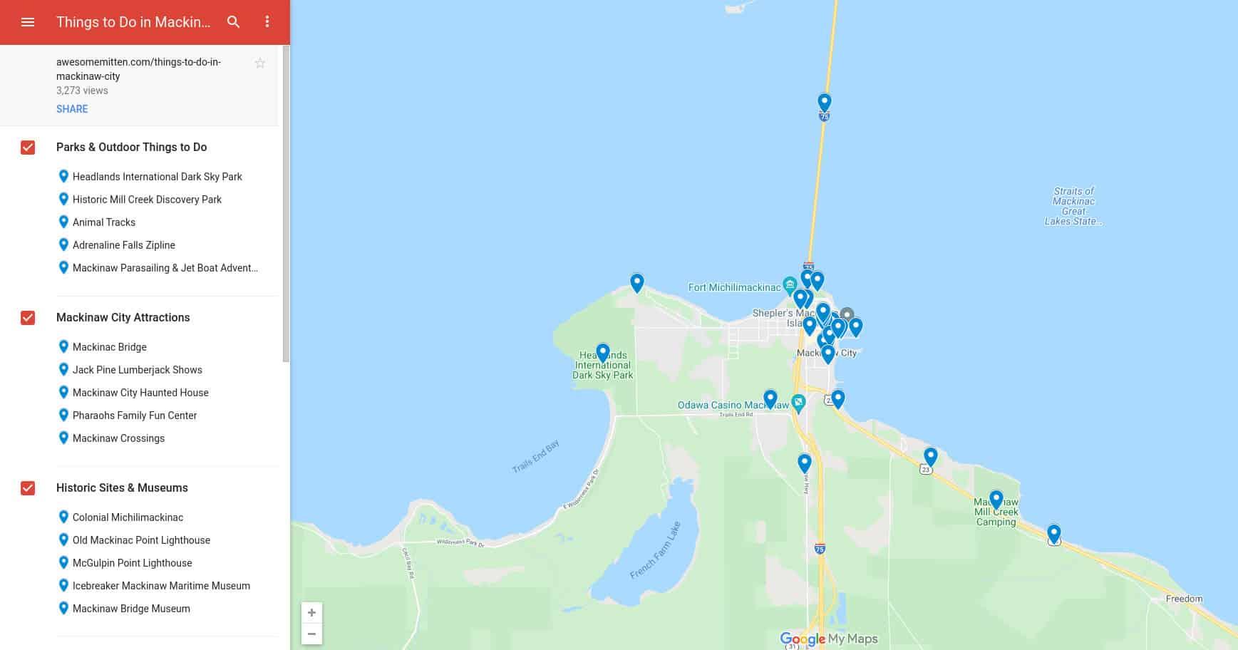 Things to Do in Mackinaw City screenshot
