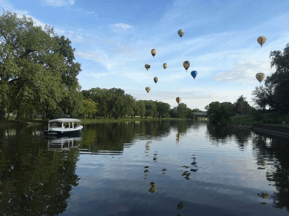 frankenmuth funships cass river balloons Tantalize Your Tastebuds While Cruising the Cass River