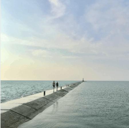 5thAvenueBeach alexandramichelini Plan a Beach Day & Walk the Pier at 5th Avenue Beach