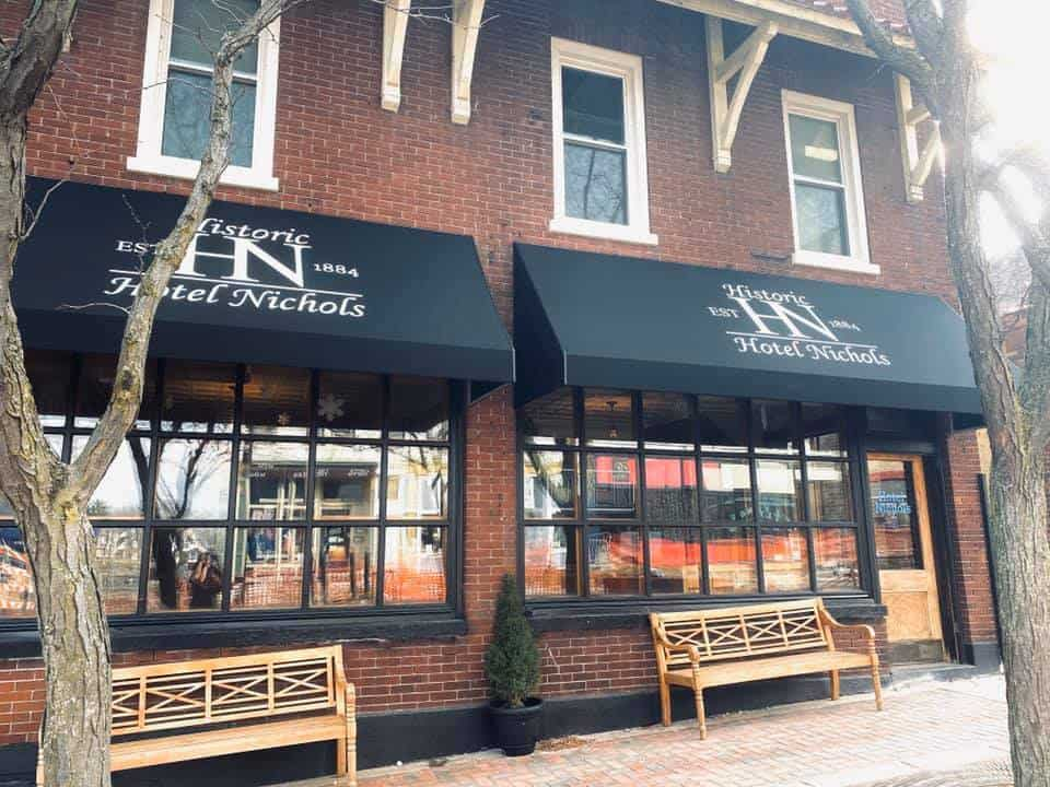Downtown South Haven Lodging at Historic Hotel Nichols