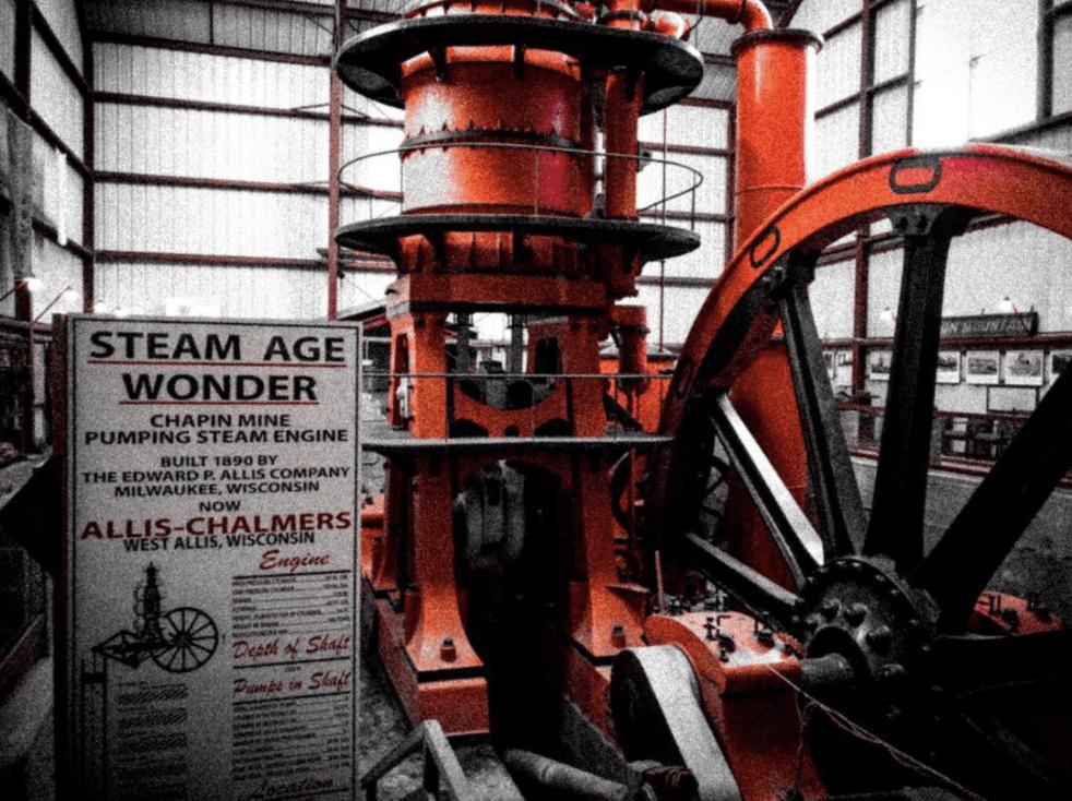 CornishPump johnny b8s Explore Fumee Falls & Historic Iron Mountain