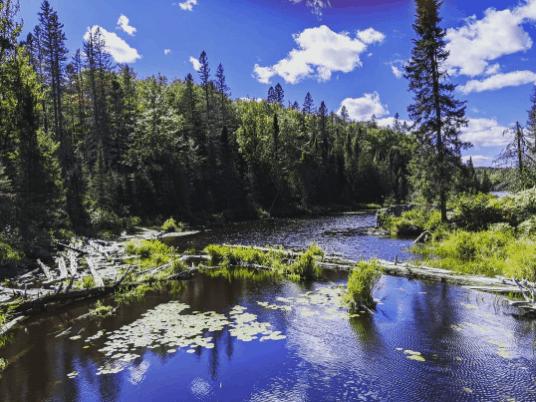 CraigLake christylynnfoye Take a Hike to the Highest Point in Michigan & Upper Peninsula Waterfalls