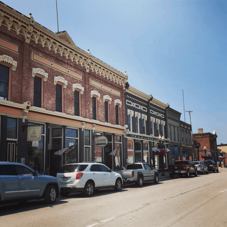 DowntownManistee meaghankennedy 13+ Top Summer Things to Do in Northern Michigan | Michigan Summer Bucket List Ideas