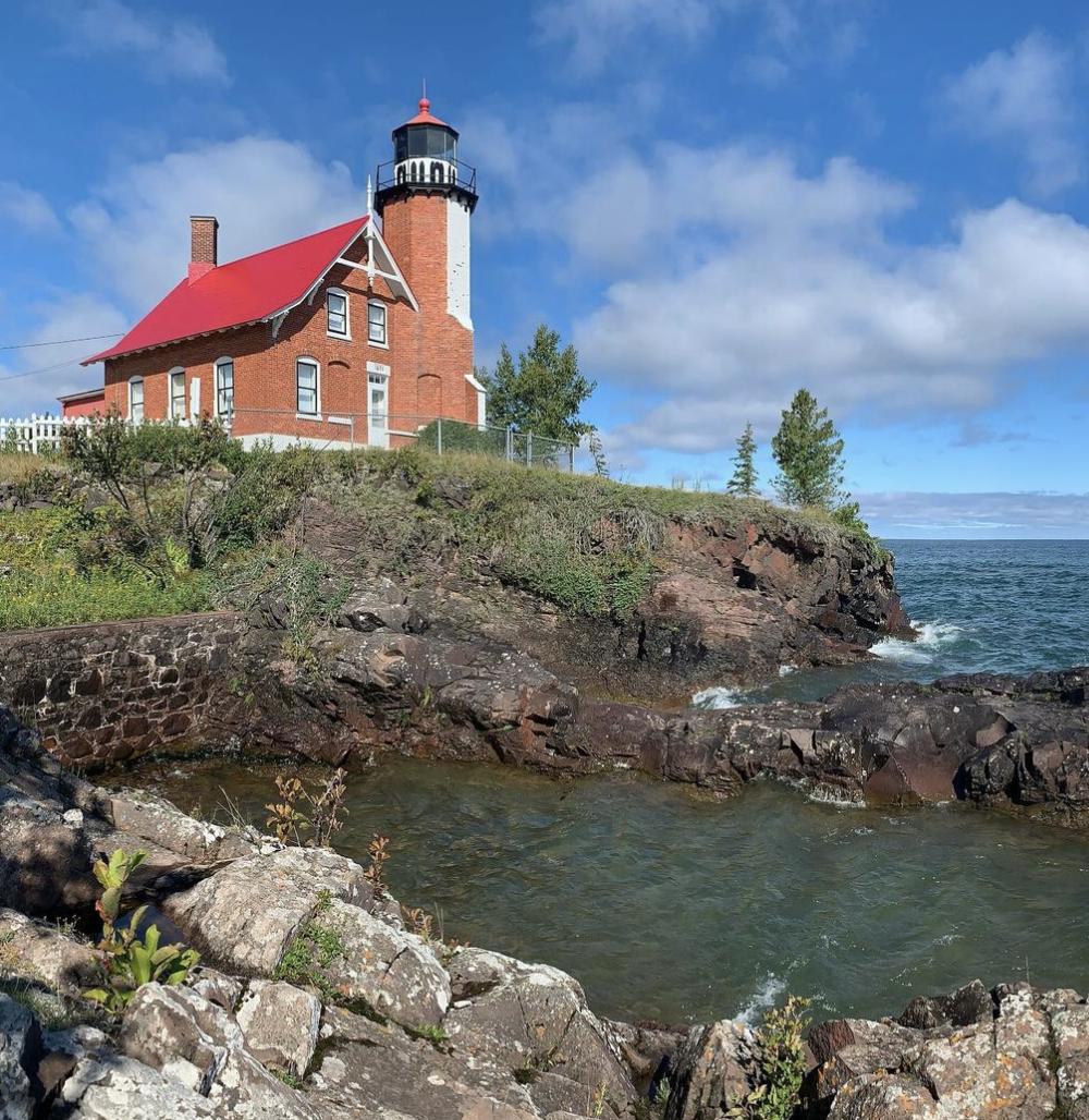EagleHarborLighthouse knudsenjm Spend a Day in Eagle Harbor MI on the Keweenaw Peninsula