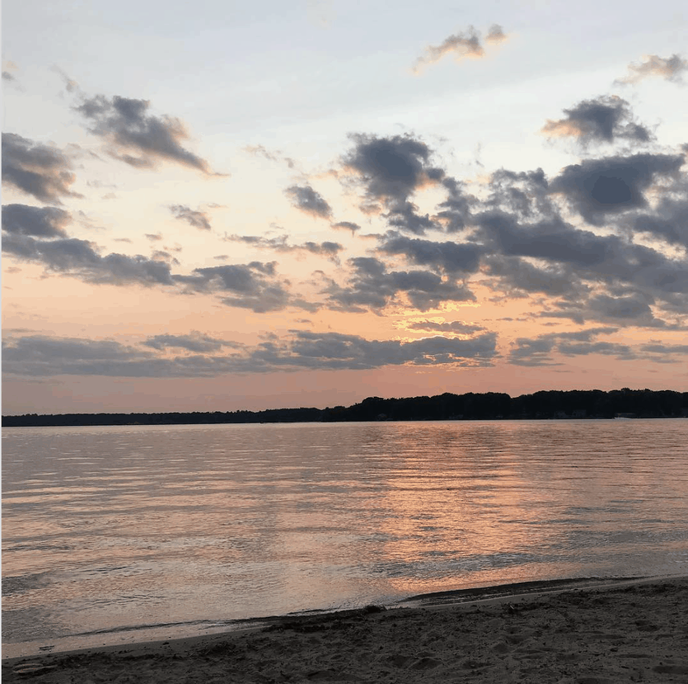 EightPointLake samsbookishlife Spend the Day on Eight Point Lake in Clare Michigan