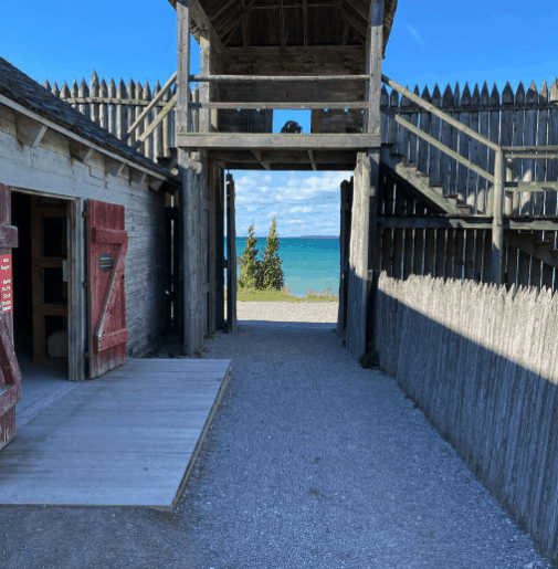 FortMichilimackinac eatflyjeep Immerse Yourself in History at Michilimackinac State Park