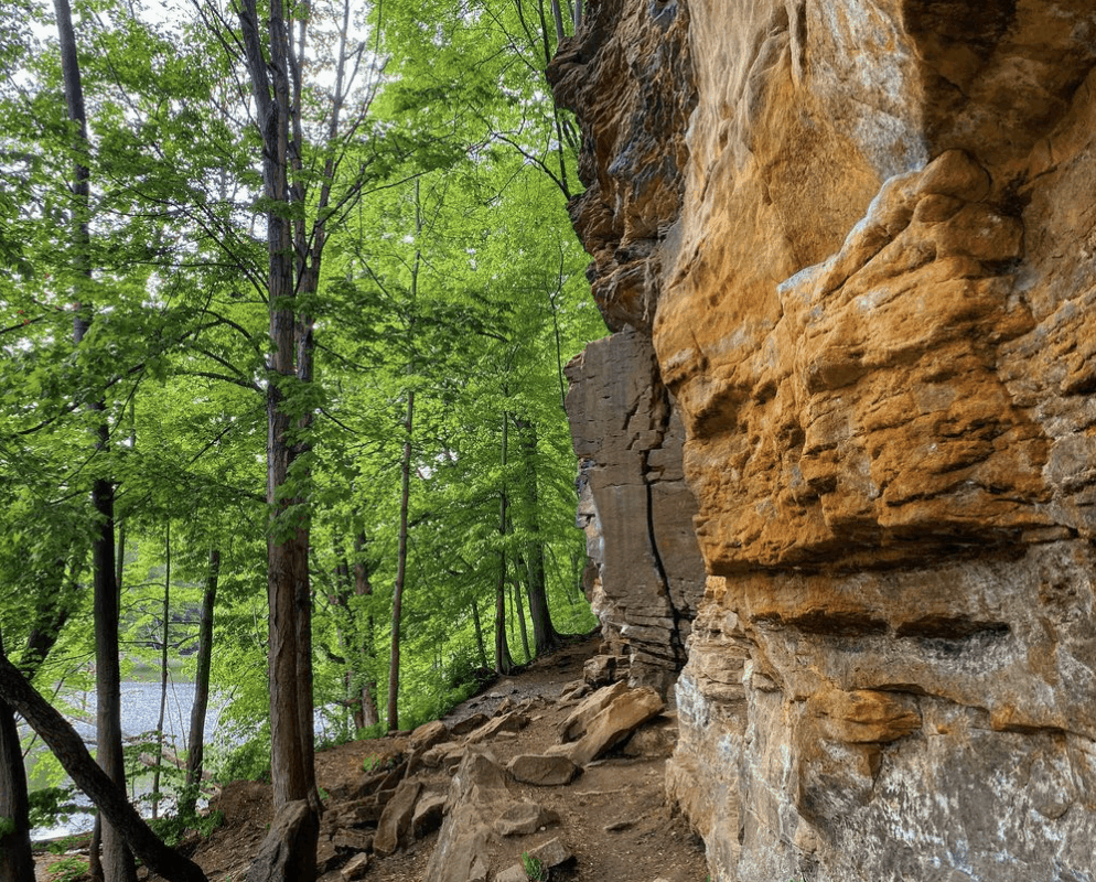 GrandLedge puremichiganguy Hike and Climb the Ledges at Oak Park