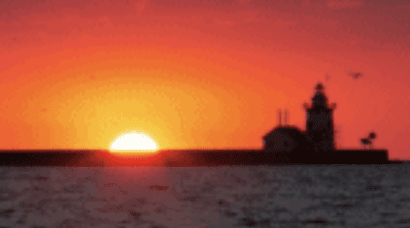 Watch a Sunrise or Sunset Over Lake Huron in the Thumb