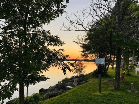 LakeCadillac bor ingphotography Take a Walk on the Keith McKellop Walkway Along Lake Cadillac