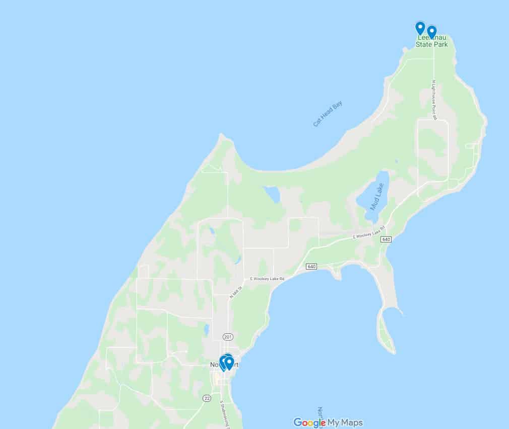Leelanau State Park screenshot Explore Leelanau State Park
