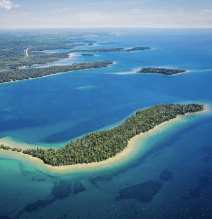 Spend a Day in the Les Cheneaux Islands