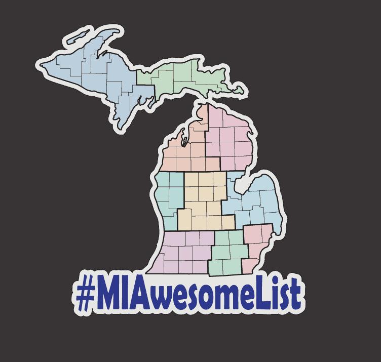 MIAwesomeList Map MI Awesome List