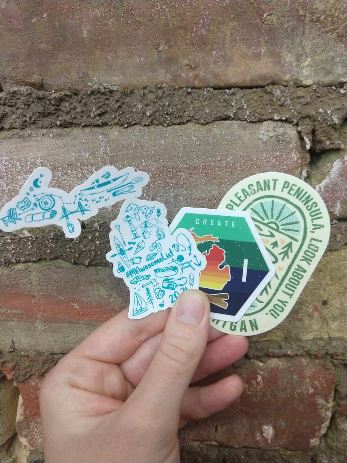 Win a #MIAwesomeList Sticker Pack from AwesomeMitten - June 2021