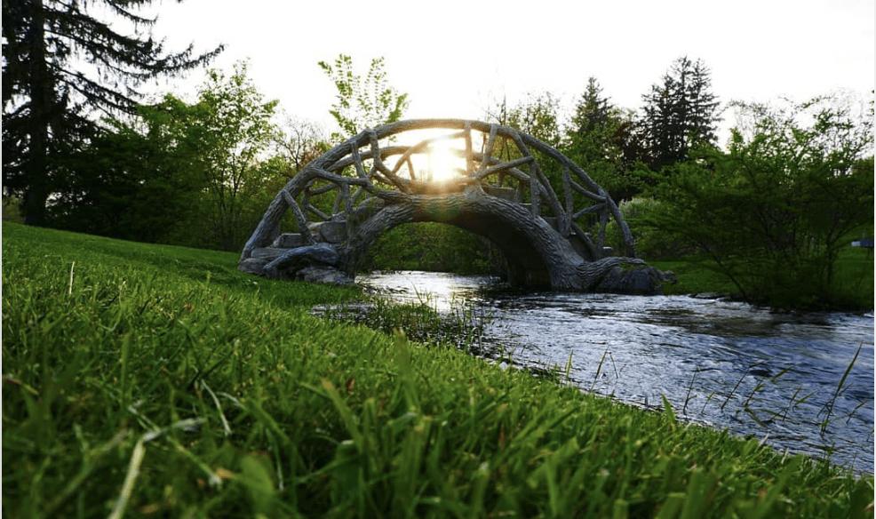 McCourtiePark nickfordphotos Explore the Cement-Shaped Bridges of McCourtie Park