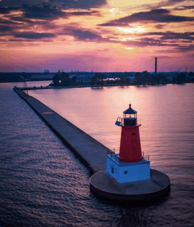 "MenomineePier tomjonesfoto Explore ""Where the Best of Michigan Begins"""