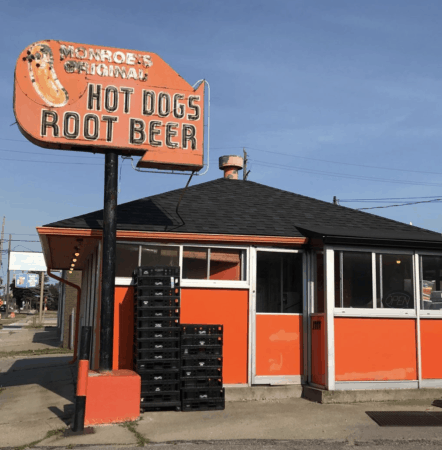 Grab a Bite to Eat at Monroe's Original Hot Dog Stand