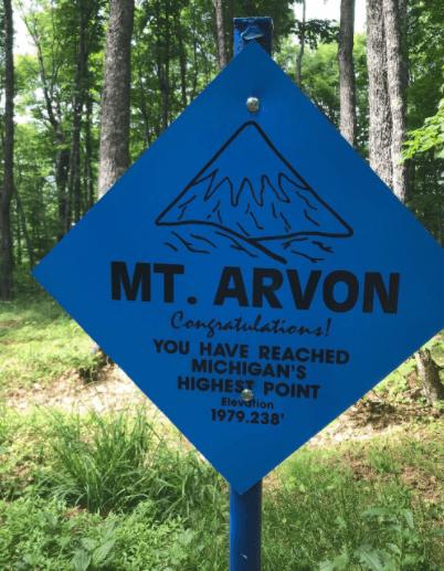 MountArvon rjohnsoncook Take a Hike to the Highest Point in Michigan & Upper Peninsula Waterfalls
