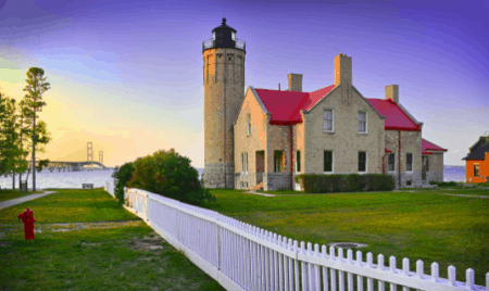 OldMackinacPoint ericmagayne photography Immerse Yourself in History at Michilimackinac State Park