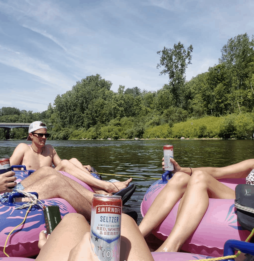 PinkysTubes afternoons and coffeespoons 1 Spend a Day Rafting the Muskegon River