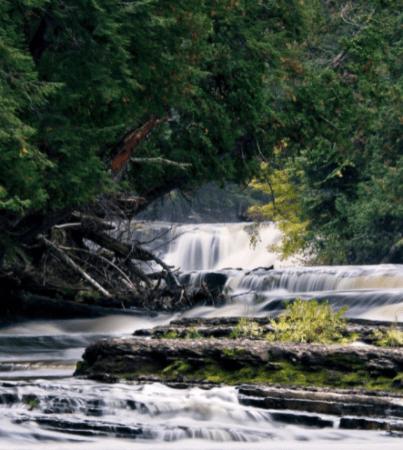 Hike the Presque Isle River Waterfalls Loop