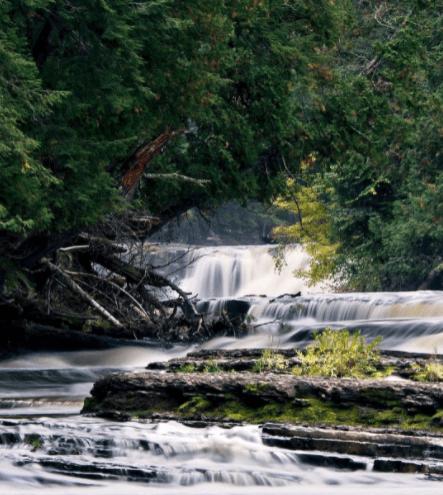 PrequeIsleRiver luissaenz Hike the Presque Isle River Waterfalls Loop