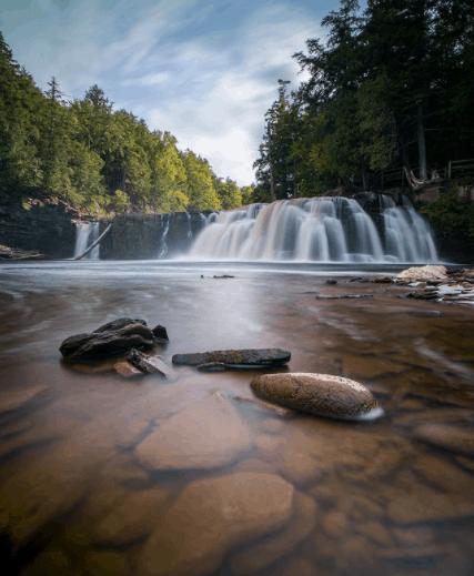 PresqueIsleRiver conoverwisco00 Hike the Presque Isle River Waterfalls Loop