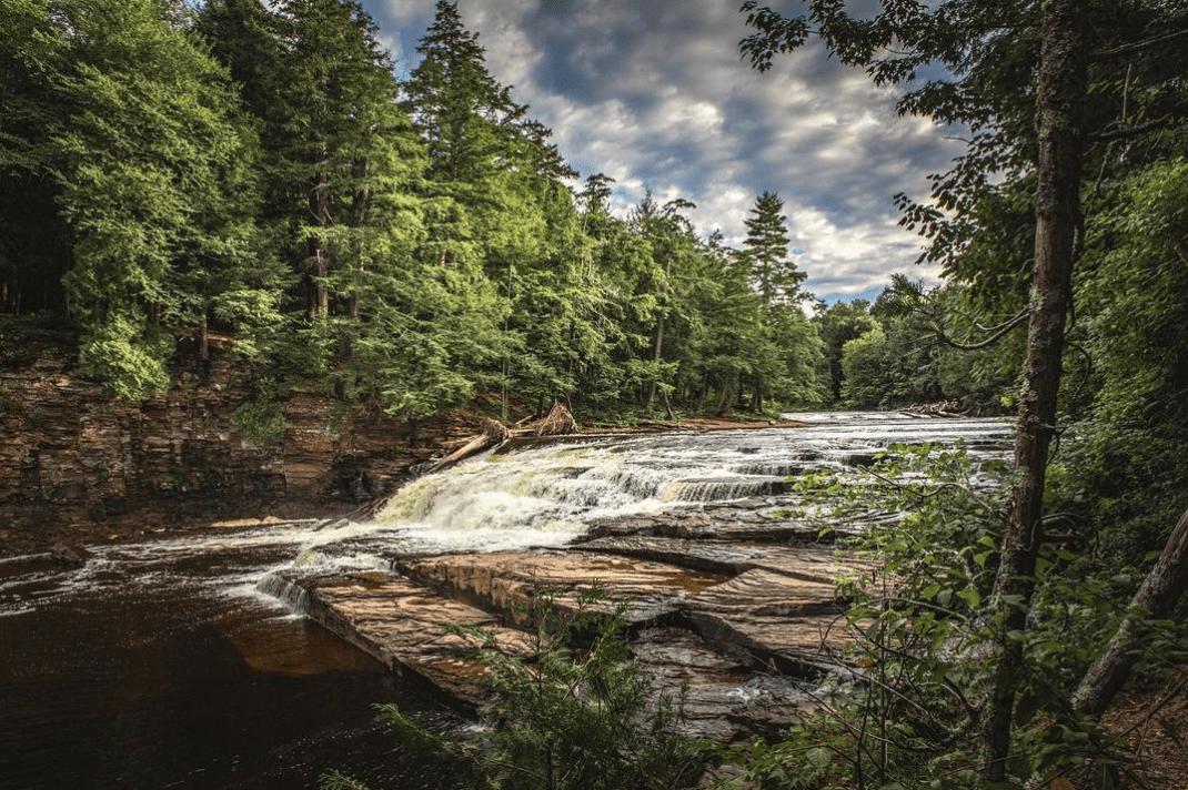 PresqueIsle photobyganesh Hike the Presque Isle River Waterfalls Loop