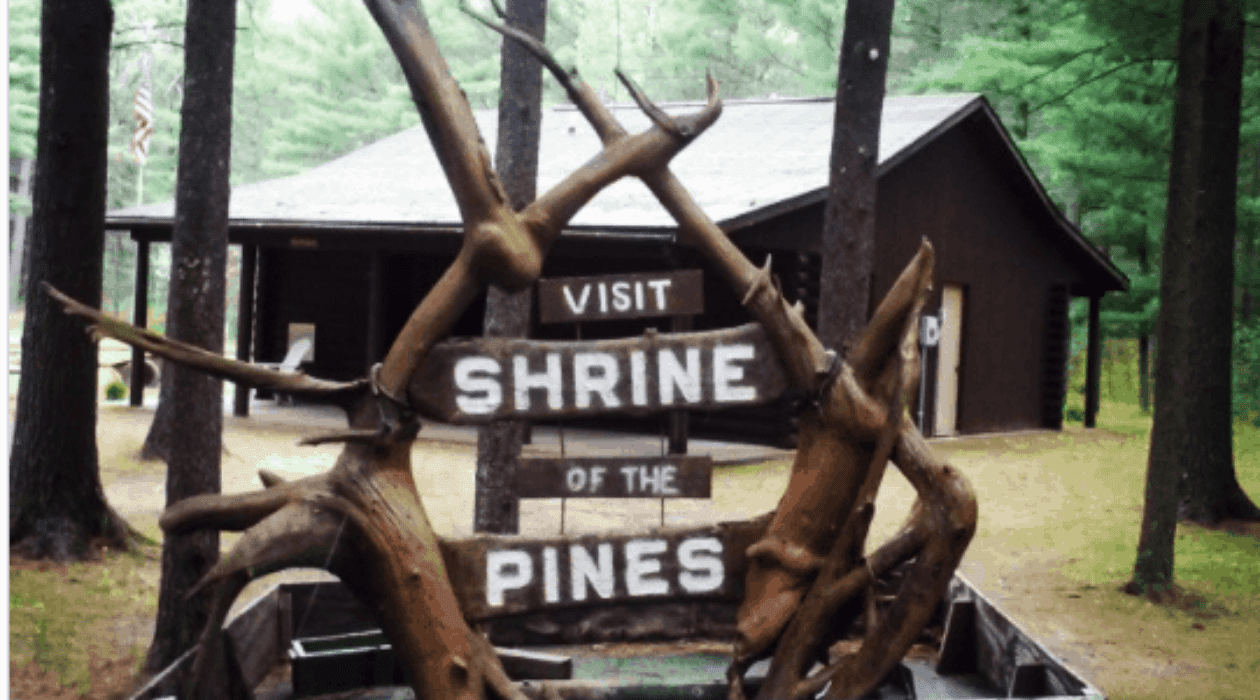 Shrine of the Pines Explore the Shrine of the Pines