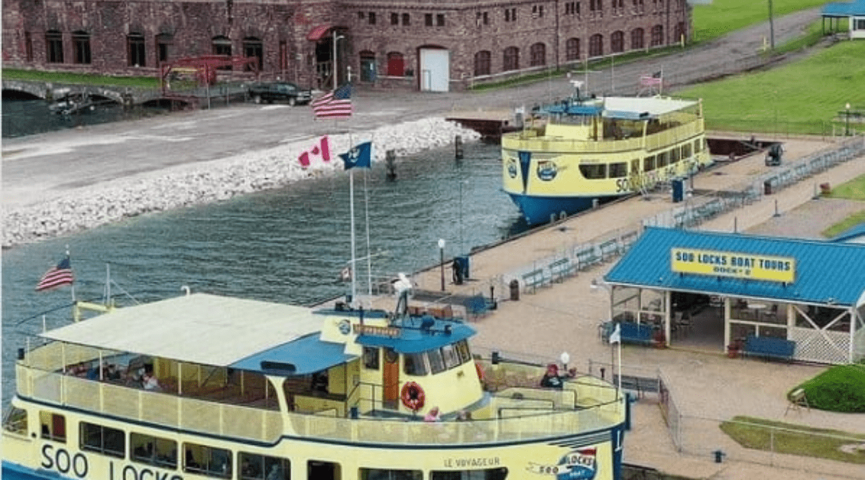 Soo Locks Take This Famous Soo Locks Boat Tour & Lighthouse Cruise
